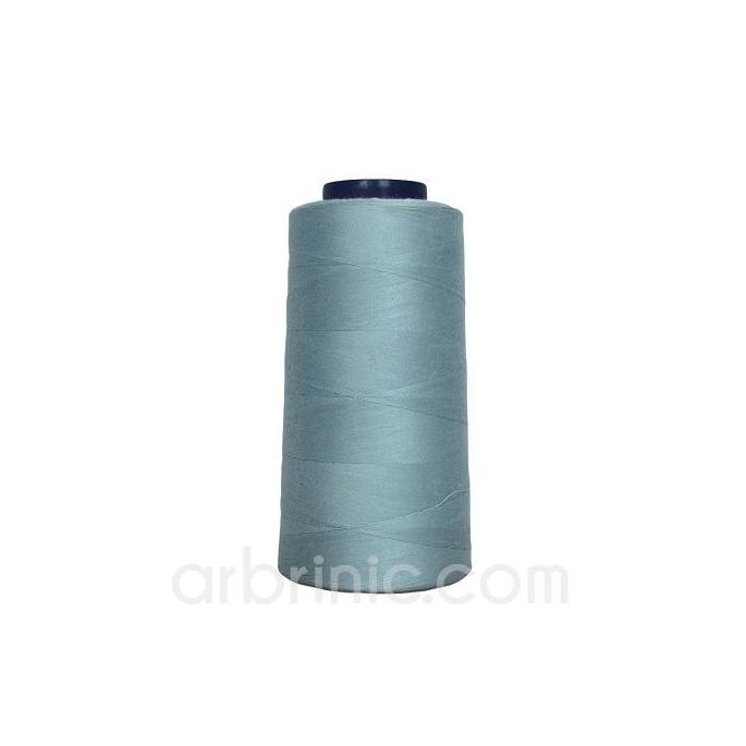 Cône fil polyester Bleu Gris (2743m)