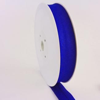 Single Fold Bias Binding 20mm Royal blue (by meter)