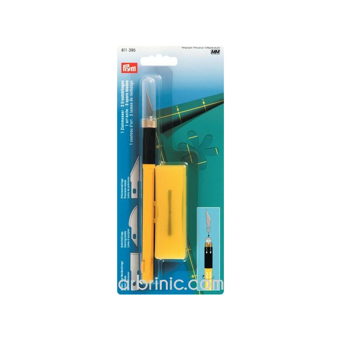 Art knife with 3 blades OLFA PRYM