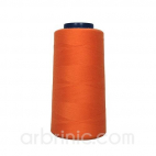 Polyester Serger and sewing Thread Cone (2743m) Orange