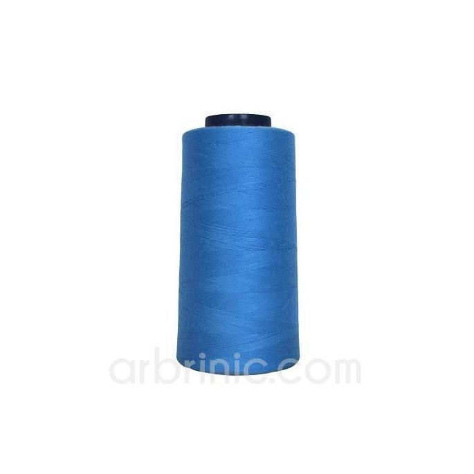 Cône fil polyester Bleu de France (2743m)