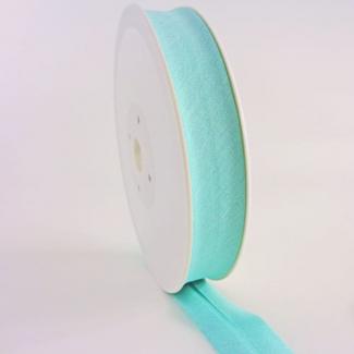 Single Fold Bias Binding 20mm Light green (by meter)