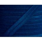 Biais élastique lingerie Oekotex 15mm bleu marine (au mètre)