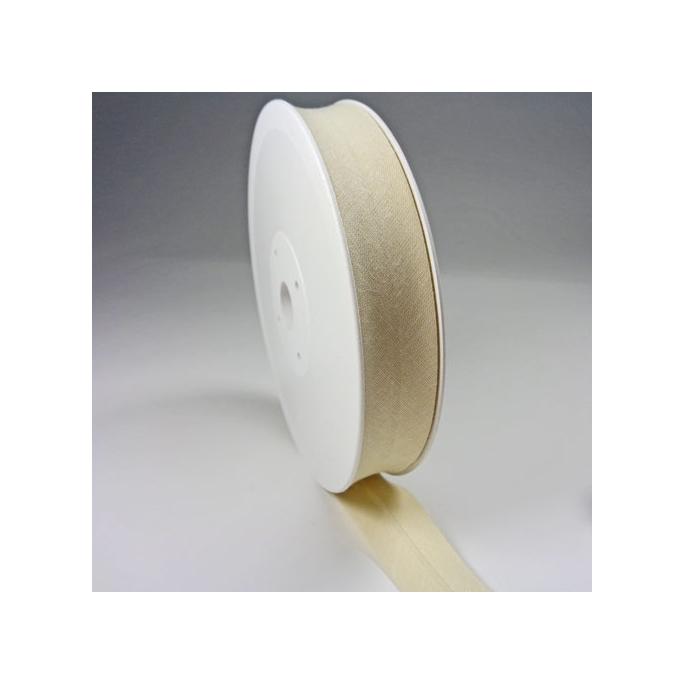 Single Fold Bias Binding 20mm Natural (by meter)