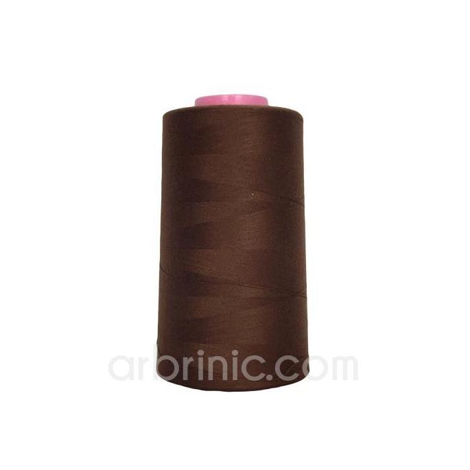 Cône fil polyester Chocolat (4573m)