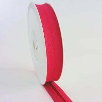 Single Fold Bias Binding 20mm Fushia Pink (by meter)
