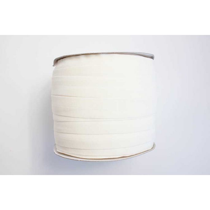 Biais élastique 2.5cm Ecru (1m)