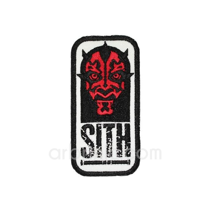 Iron-on Embroidery Patch Star Wars Sith