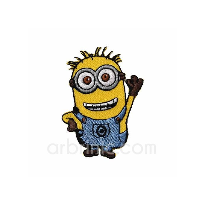 Iron-on Embroidery Patch Minion 07