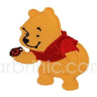 Iron-on Embroidery Patch Winnie the Pooh