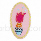 Iron-on Embroidery Patch Flower