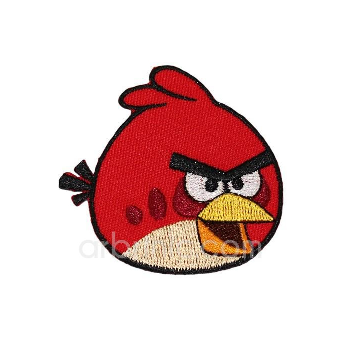 Iron-on Embroidery Patch Angry Birds 04