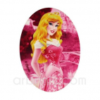Iron-on printed Patch Princess Aurore Sleeping Beauty