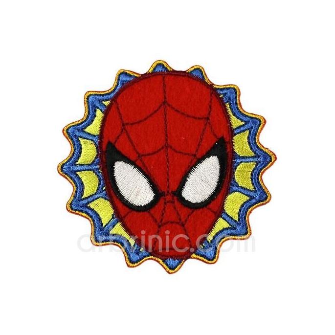 Ecusson broderie Spiderman 04