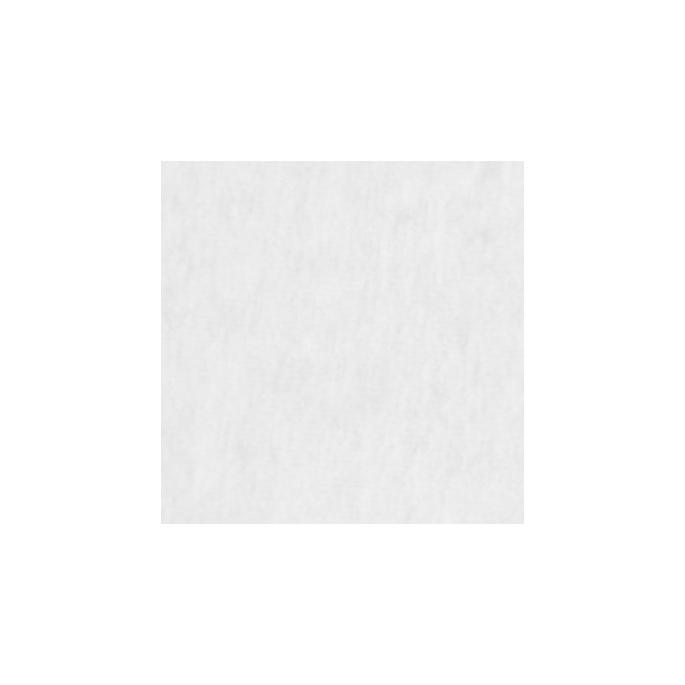 Velours de coton Oekotex Blanc (au mètre)
