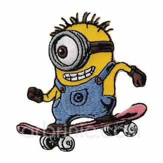Iron-on Embroidery Patch Minion 03