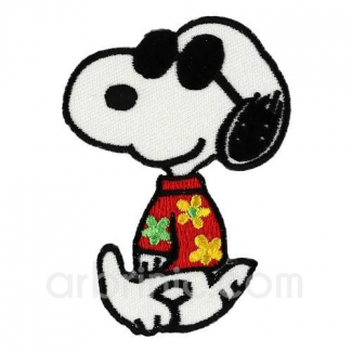 Ecusson broderie Snoopy 01