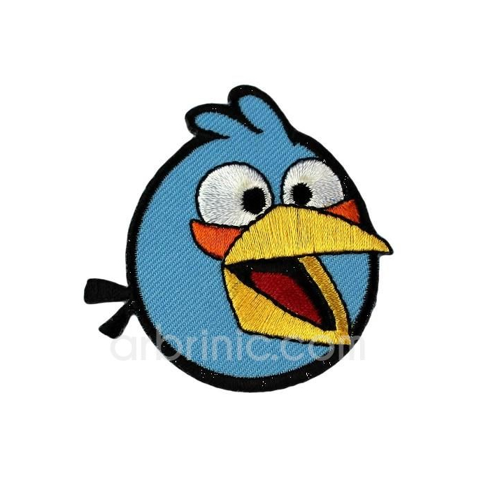 Iron-on Embroidery Patch Angry Birds 02