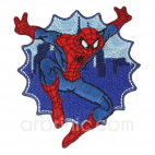 Iron-on Embroidery Patch Spiderman 10