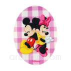 Iron-on printed Patch Mickey Minnie