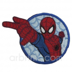 Iron-on Embroidery Patch Spiderman