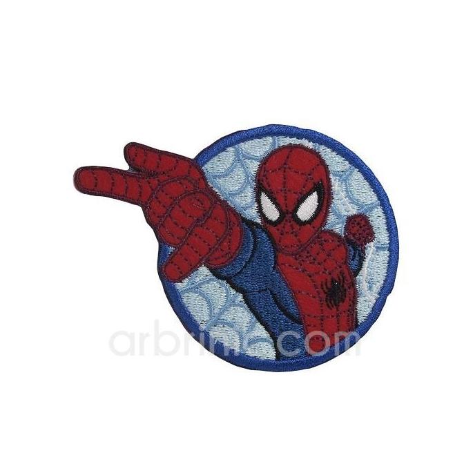 Ecusson broderie Spiderman