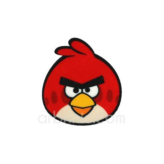 Ecusson imprimé Angry birds 06