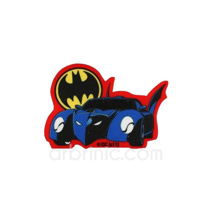 Iron-on printed Patch Batman 08
