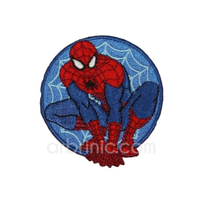 Iron-on Embroidery Patch Spiderman 06