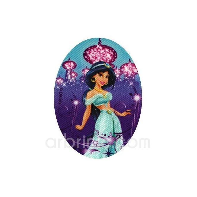 Ecusson imprimé Princesse Jasmine Aladdin