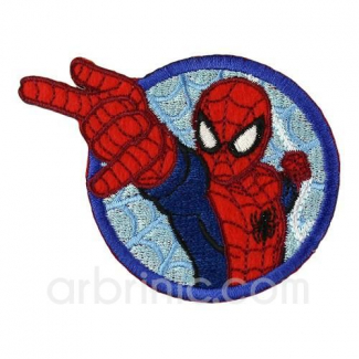 Iron-on Embroidery Patch Spiderman 08