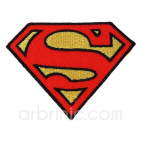 Iron-on Embroidery Patch Superman