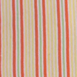 PUL coton - rayure jaune orange (50x55)