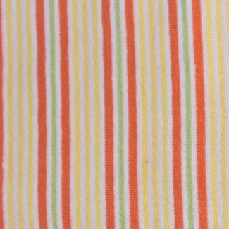 PUL Cotton - orange yellow stripe (50x55)