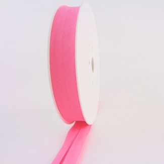 Single Fold Bias Binding 20mm Light Pink (by meter)