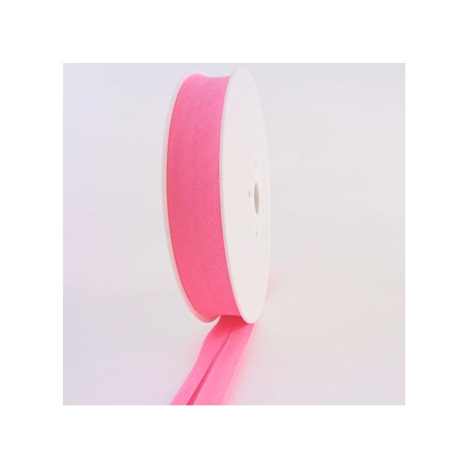 Single Fold Bias Binding 20mm Light Pink (by meter)