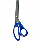 Ciseaux cranteurs multi-usages 23.5cm Bleu