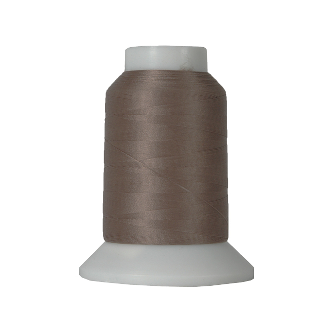 Wooly Nylon Thread Dark Taupe (1000m)