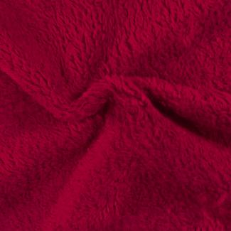 Teddy Oekotex Cherry Red per meter)