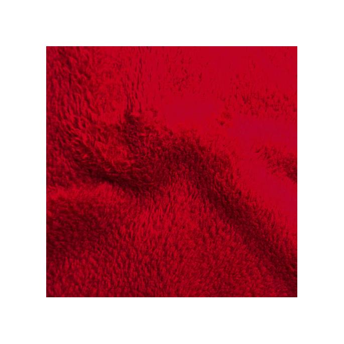 Teddy Oekotex rouge (au mètre)