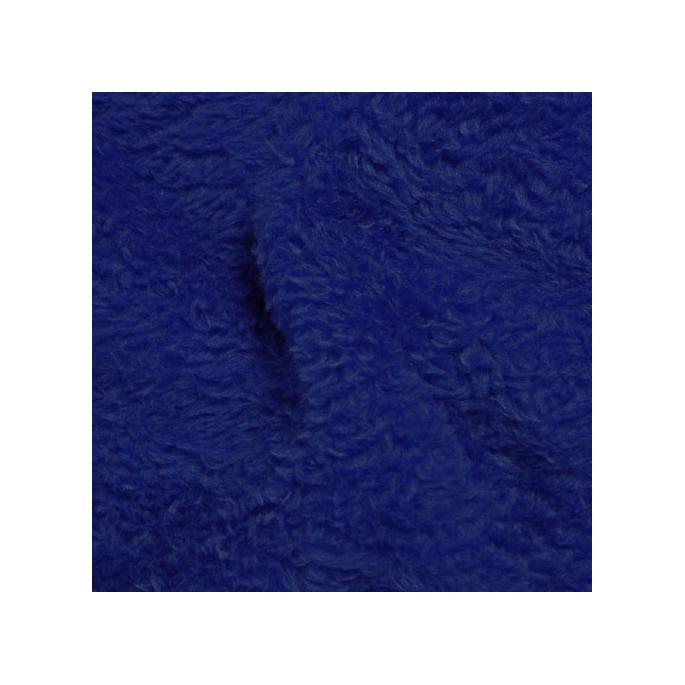 Teddy Oekotex Bleu nuit (au mètre)