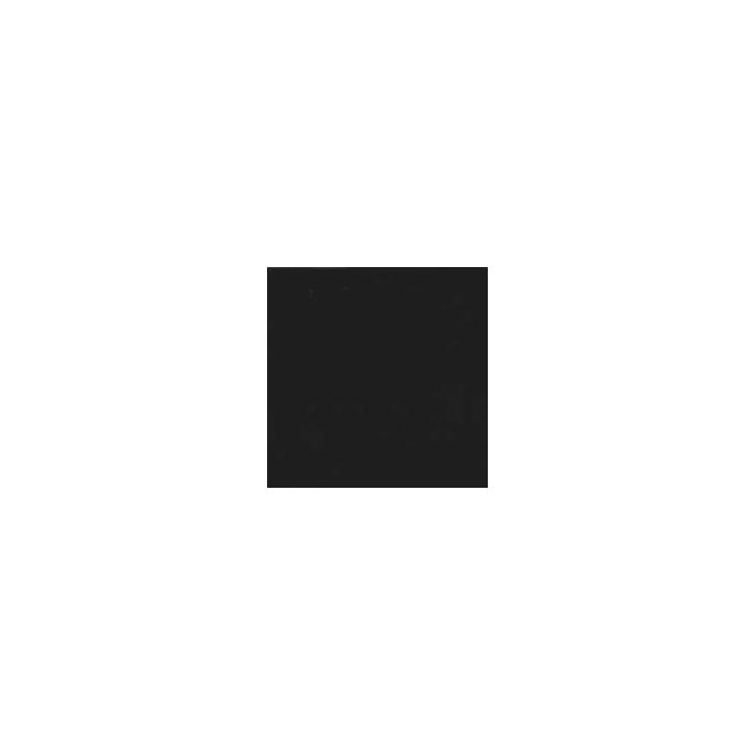 Interlock de coton BIO - Noir (au mètre)