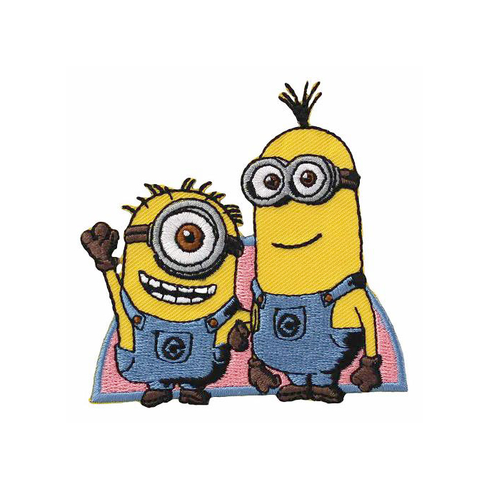 Iron-on Embroidery Patch Minion 08