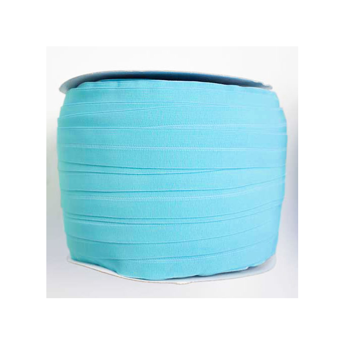Fold Over Elastic 1 inch Seaspray (1m)