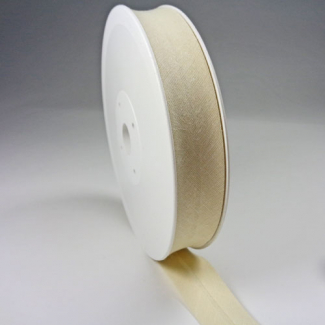 Biais 20mm Ecru (bobine 25m)