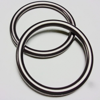 Sling Rings Grey Size S (1 pair)