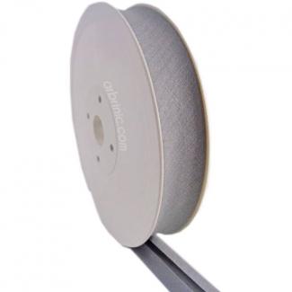 Single Fold Bias Binding 20mm Light Gray (25m roll)