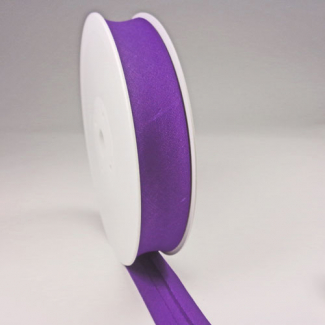 Single Fold Bias Binding 20mm Purple (25m roll)