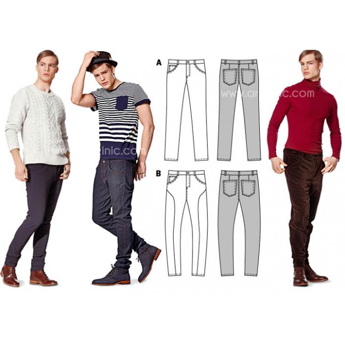 Burda Young 7138 Jeans & Pants Pattern