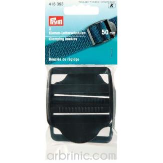 Clamping Buckles Plastic PRYM 50mm (x2)